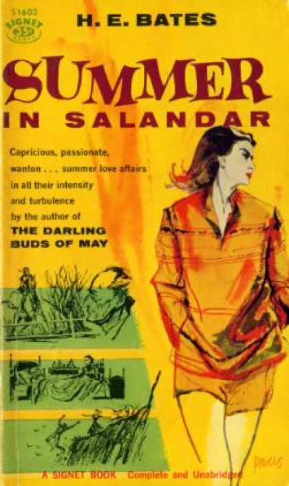 Signet Books - Summer In Salandar - H.e. Bates