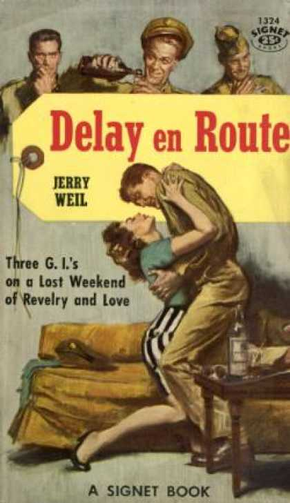 Signet Books - Delay En Route - Jerry Weil