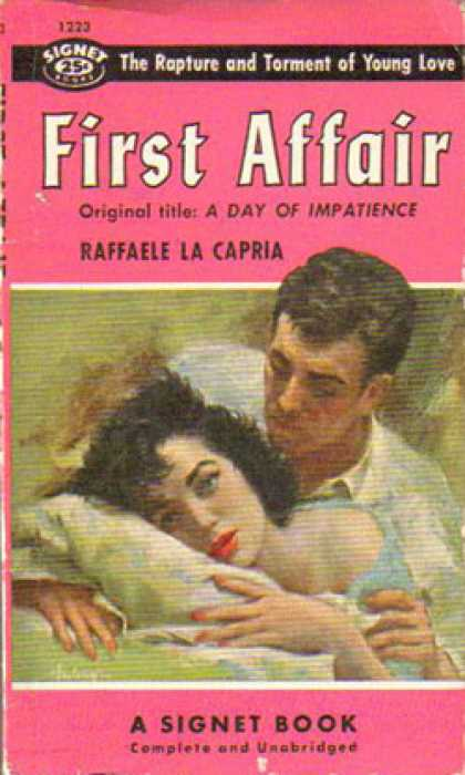 Signet Books - First Affair - Raffaele La Capria
