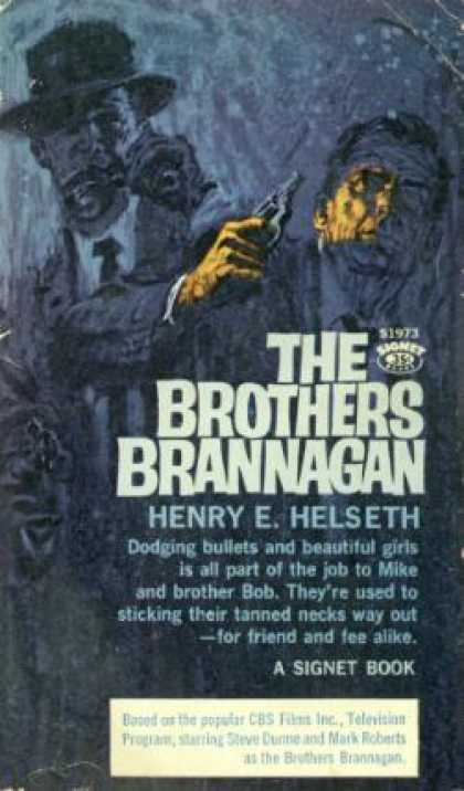 Signet Books - The Brothers Brannagan - Henry E. Helseth