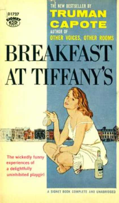 Signet Books - Breakfast at Tiffany's - Truman Capote