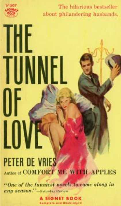 Signet Books - The Tunnel of Love - Peter De Vries