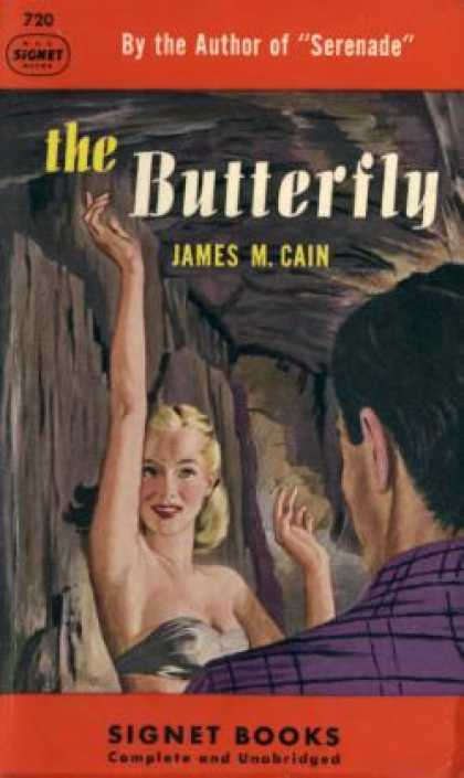 Signet Books - Butterfly Violence and Incest In Kentucky #720 - James Cain