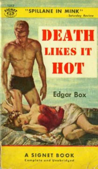 Signet Books - Death Likes It Hot - Edgar (pseudonym of Gore Vidal) Box