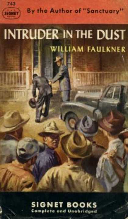 Signet Books - Intruder In the Dust - William Faukkner