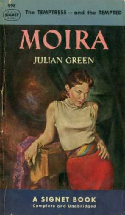 Signet Books - Moira - Julian Green