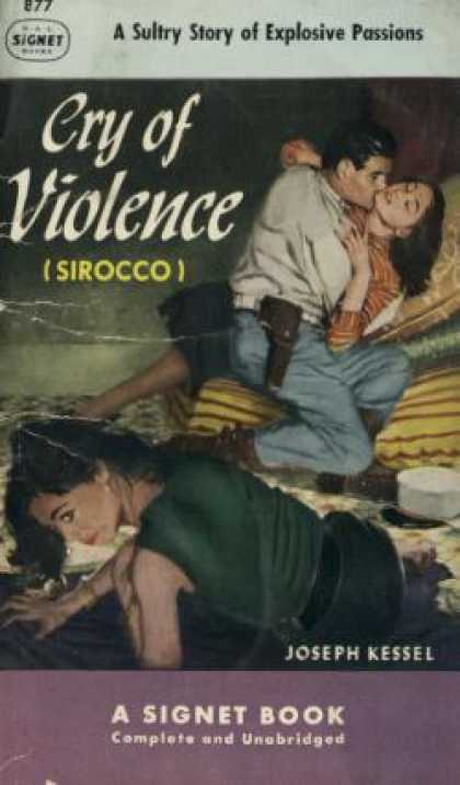 Signet Books - Cry of Violence - Joseph Kessel