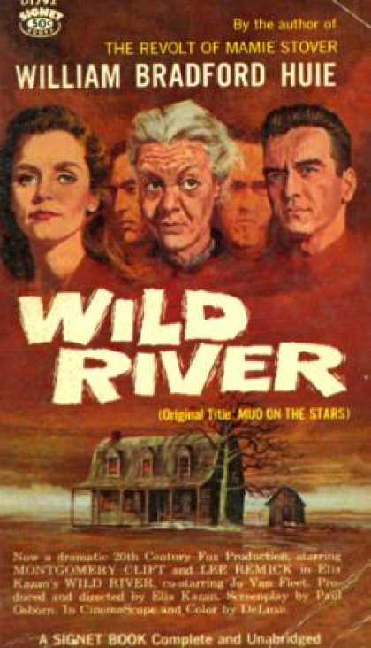 Signet Books - Wild River - William Bradford Huie