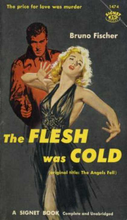 Signet Books - The Flesh Was Cold