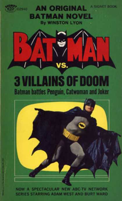 Signet Books - Batman Vs. Three Villains of Doom