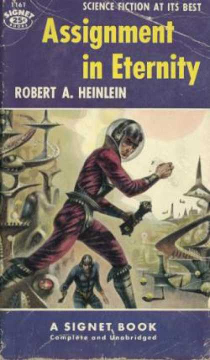 Signet Books - Assignment In Eternity - Heinlen
