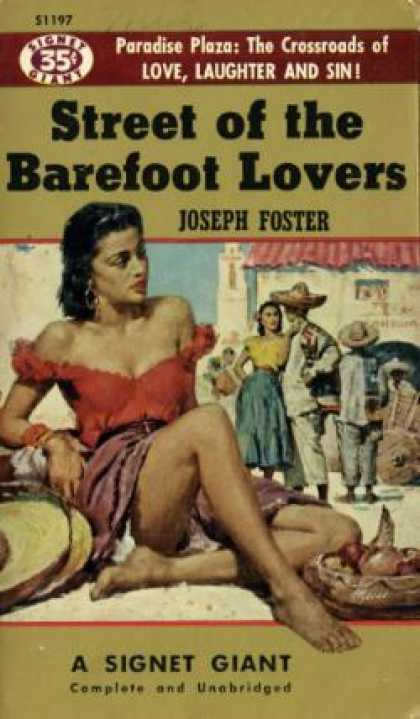 Signet Books - Street of the Barefoot Lovers - Joseph Foster