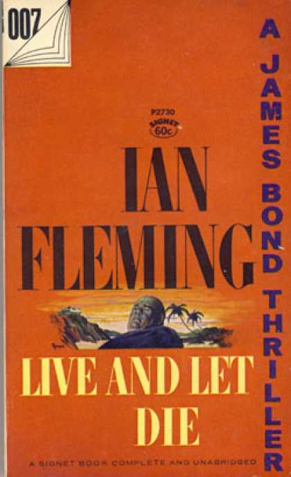 Signet Books - Live and Let Die - Ian Fleming