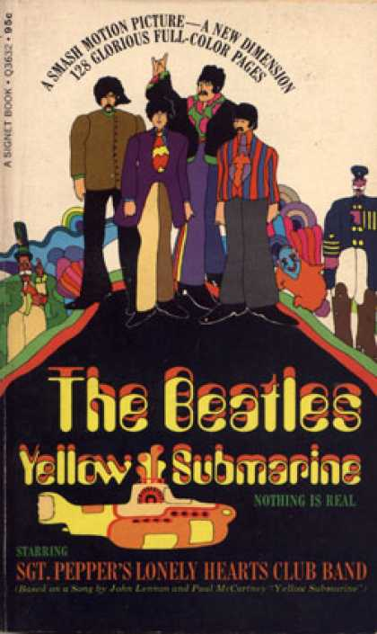 Signet Books - The Beatles Yellow Submarine - Max Wilk