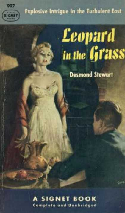 Signet Books - Leopard In the Grass - Desmond Stewart