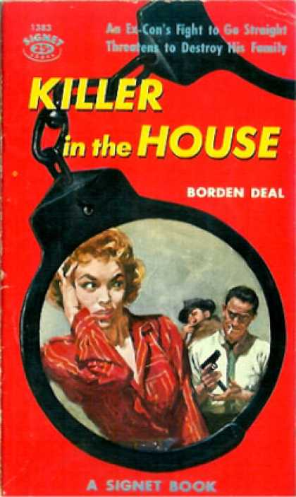 Signet Books - Killer In the House - Borden Deal