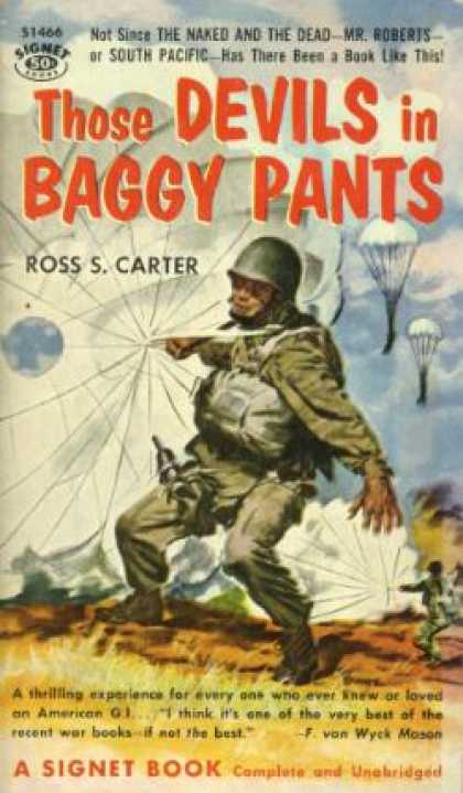 Signet Books - Those Devils In Baggy Pants