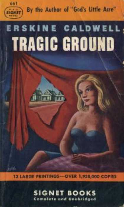 Signet Books - Tragic Ground