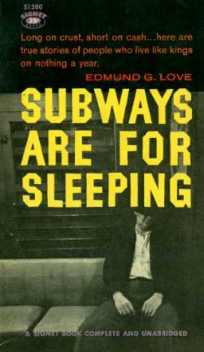 Signet Books - Subways Are for Sleeping
