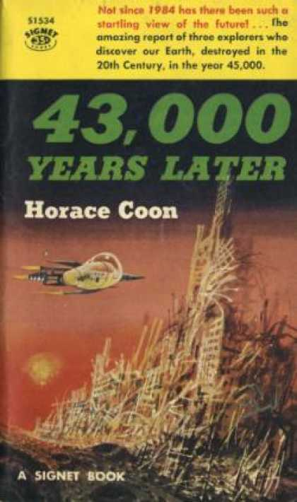 Signet Books - 43,000 Years Later - Horace Coon