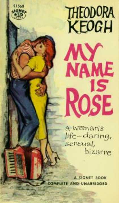 Signet Books - My Name Is Rose - Theodora Keogh