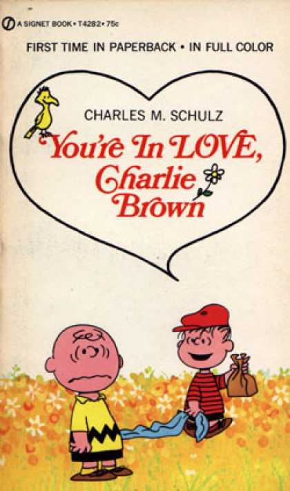 Signet Books - You're in love, Charlie Brown - Charles M. Schulz
