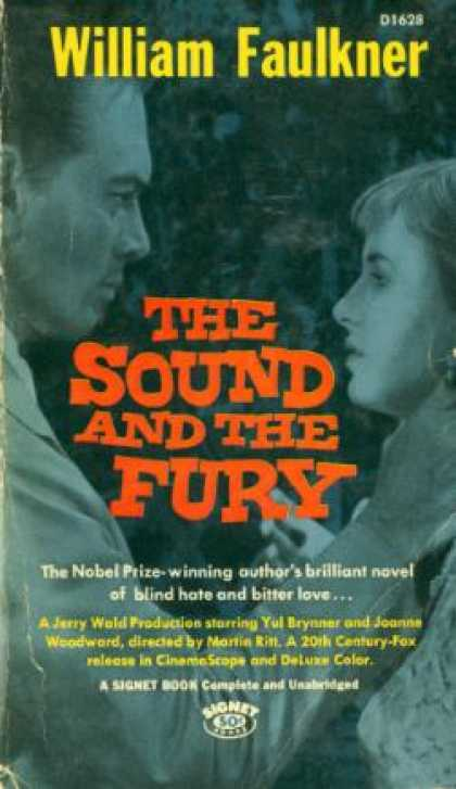 Signet Books - The Sound and the Fury