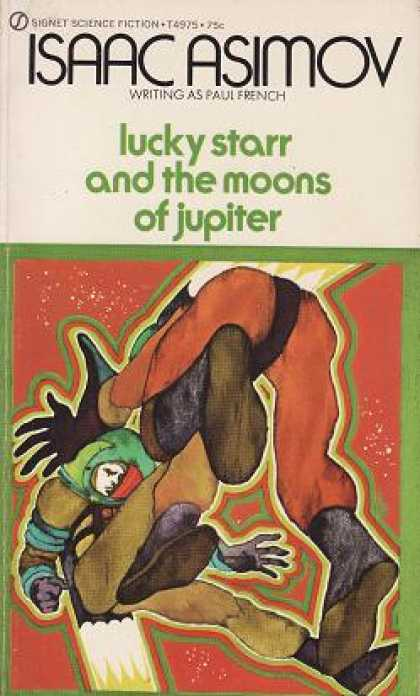 Signet Books - Lucky Starr and the Moons of Jupiter