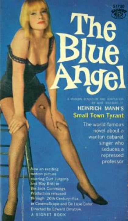 Signet Books - The Blue Angel - Wirt Williams