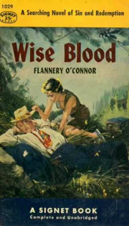 Signet Books - Wise Blood - Flannery O' Connor