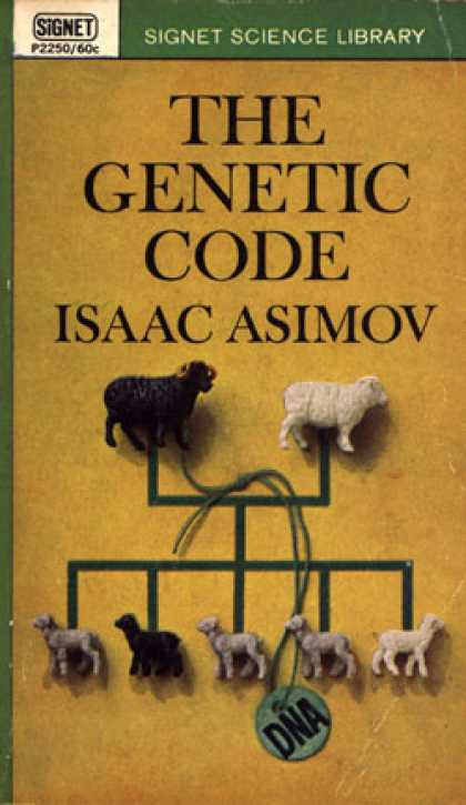 Signet Books - The Genetic Code - Isaac Asimov