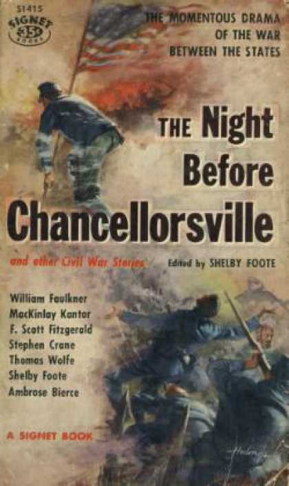 Signet Books - The Night Before Chancellorsville and Other Civil War Stories - Shelby Foote