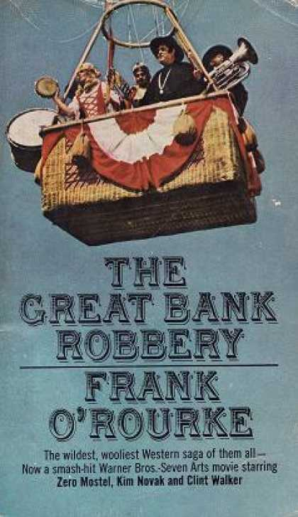 Signet Books - The Great Bank Robbery