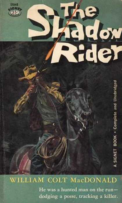 Signet Books - Shadow Rider - William Colt Macdonald