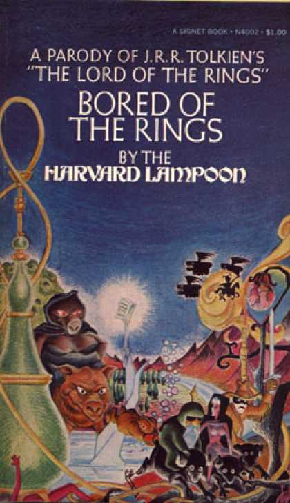 "Signet Books - Bored of the Rings: A Parody of J.r.r. Tolkiens ""The Lord of the Rings"""