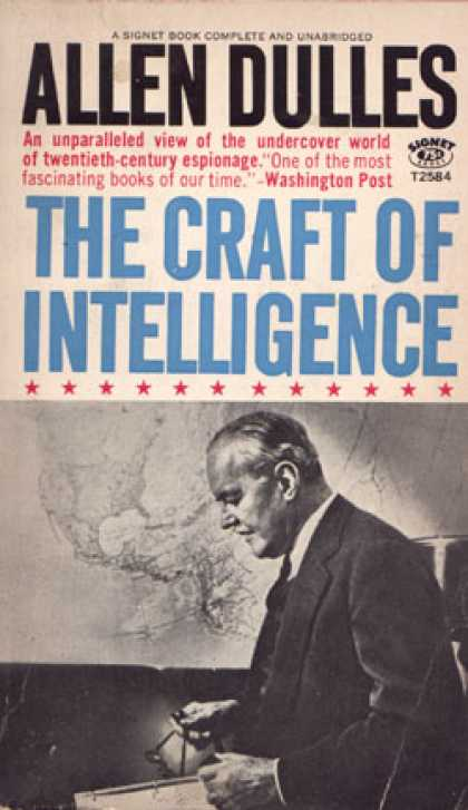 Signet Books - The Craft of Intelligence - Allen Dulles