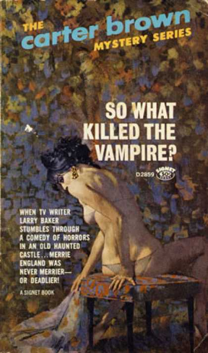 Signet Books - So What Killed the Vampire?