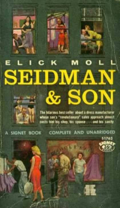 Signet Books - Seidman and Son - Elick Moll