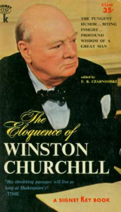 Signet Books - Eloquence of Winston Churchill - F. R. Czarnomski