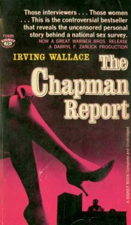 Signet Books - The Chapman Report #t1935 - Irving Wallace