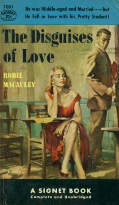 Signet Books - Disguises of Love - Robie Macauley