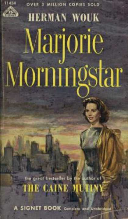 Signet Books - Marjorie Morningstar - Herman Wouk