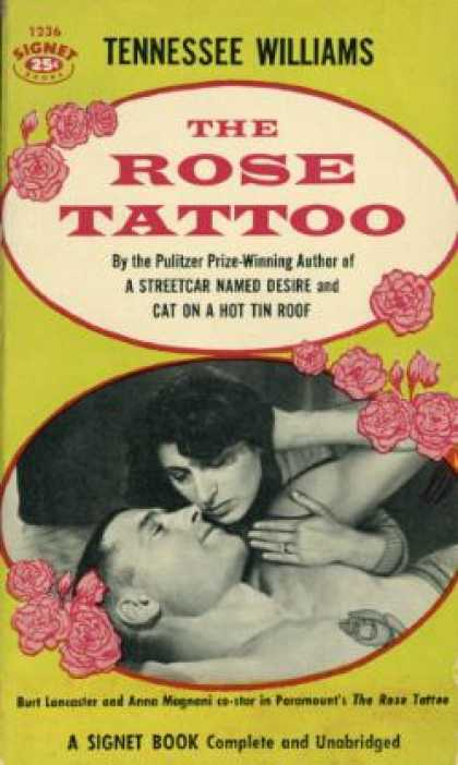 Signet Books - The Rose Tattoo - Tennessee Williams