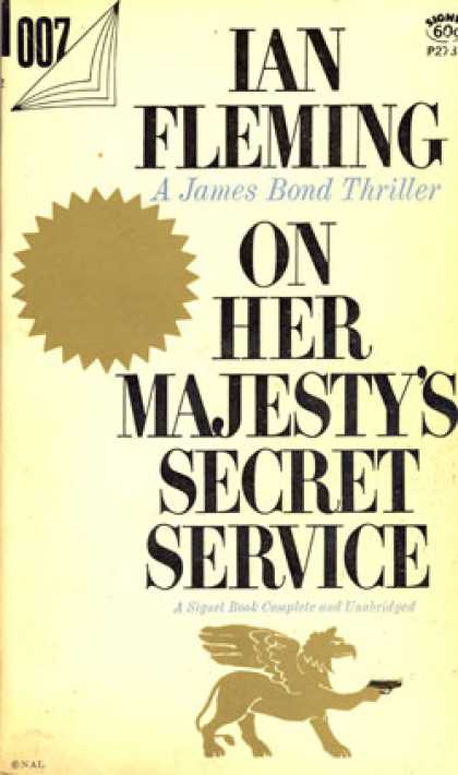Signet Books - On Her Majesty's Secret Service - Ian Fleming