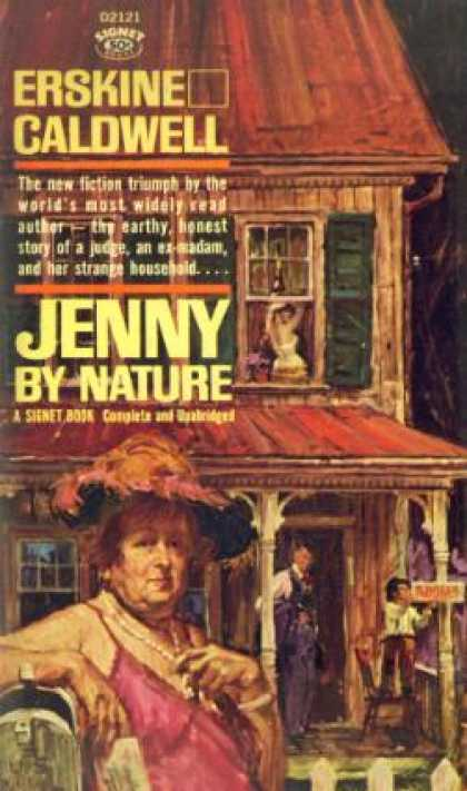 Signet Books - Jenny By Nature - Erskine Caldwell