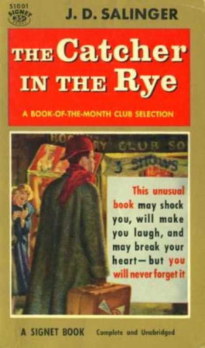 Signet Books - The Catcher In the Rye - J. D. Salinger