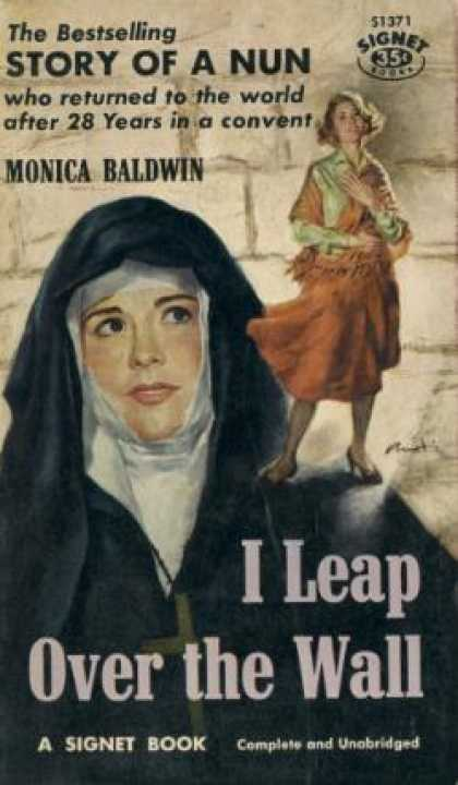Signet Books - I Leap Over the Wall Story of a Nun