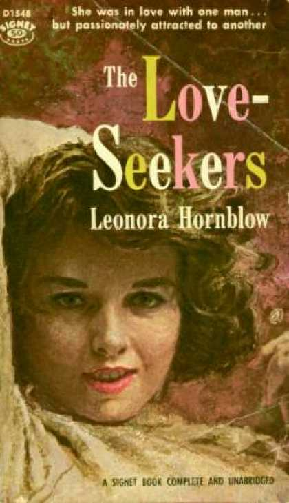 Signet Books - The Love-seekers - Leonora Hornblow