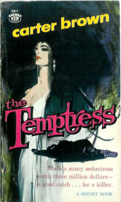 Signet Books - The Temptress - Carter Brown