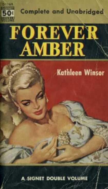 forever amber cover